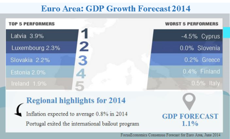 Infographic Euro Area June 2014